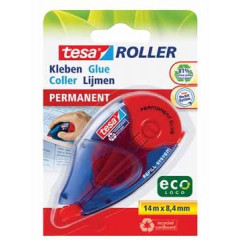 Lijmroller Tesa Roller EcoLogo Permanent navulbaar