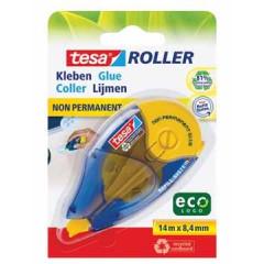 Lijmroller Tesa Roller EcoLogo Niet-permanent navulbaar