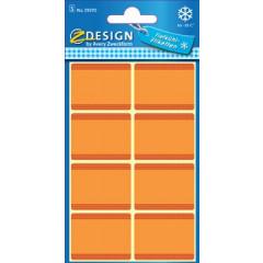 Etiket Avery Z-design Home 36x28mm voor diepvries oranje (40)