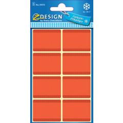 Etiket Avery Z-design Home 36x28mm voor diepvries rood (40)