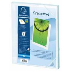 Elastobox Exacompta Kreacover PP A4 25mm wit