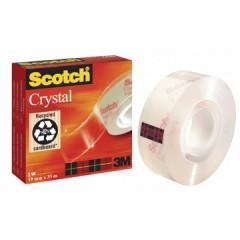 Plakband Scotch Crystal Tape 19mm x 33m