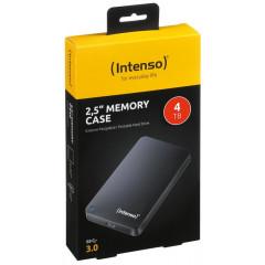 Harde schijf Intenso Memory Case 4GB zwart