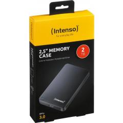 Harde schijf Intenso Memory Case 2GB zwart