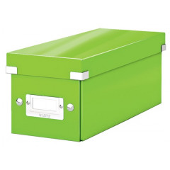 Opbergdoos Leitz Click&Store WOW PP voor CD's groen metallic (6041054)