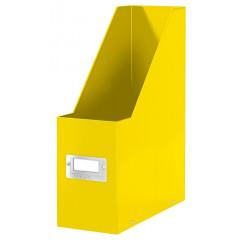 Tijdschriftencassette Leitz Click&Store WOW PP geel metallic (6047016)