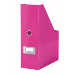 Tijdschriftencassette Leitz Click&Store WOW PP roze metallic (6047023)