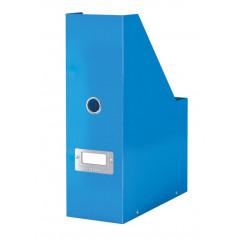 Tijdschriftencassette Leitz Click&Store WOW PP blauw metallic (6047036)