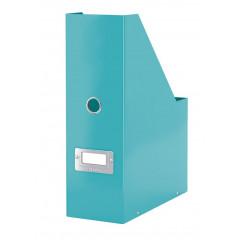 Tijdschriftencassette Leitz Click&Store WOW PP ijsblauw metallic (6047051)