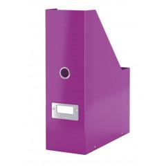 Tijdschriftencassette Leitz Click&Store WOW PP paars metallic (6047062)