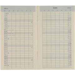 Vulling Brepols voor zakagenda Plan-O-Rama Genova 92x158mm 2022 1 maand/pagina