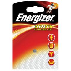 Knoopcelbatterij Energizer Silver Oxide 377/376 SR66 1,5V