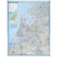 Landkaart Legamaster Professional Nederland 130x101cm