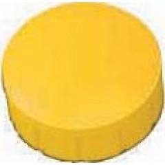 Magneet Maul MaulSolid Ø15mm geel (10)