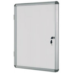 Vitrine Bisilque Bi-Office Earth-it voor 6 x A4 aluminium