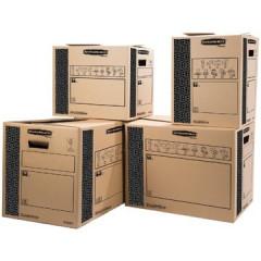 Verhuisdoos Fellowes bankers box heavy duty 40x32x32cm bruin/zwart (10)