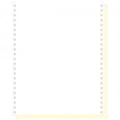 """Blanco ft.11""""4/6x240 2-voud 70gr afscheurbare pinfeed ncr wit-geel (1000)"""