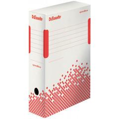 Archiefdoos Esselte Speedbox karton A4/folio 250x100x350mm wit