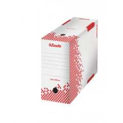 Archiefdoos Esselte Speedbox karton A4/folio 250x150x350mm wit