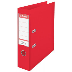 Ordner Esselte No.1 Vivida Plus PP A4 75mm rood (624068e)