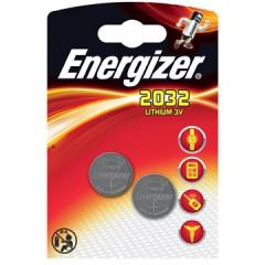 Knoopcelbatterij Energizer CR2032 3V (2)