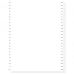 """Blanco ft.12""""x240 2-voud 56gr afscheurbare pinfeed ncr wit (1000)"""