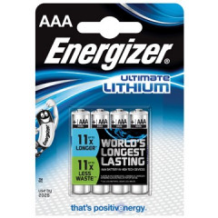Batterij Energizer Ultimate Lithium AAA 1,5V (4)
