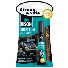 Alleslijm Bison Strong&Safe 7g