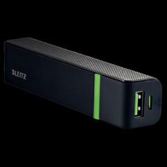 Powerbank Leitz Complete USB 2600mAh zwart