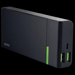 Powerbank Leitz Complete USB 10400mAh zwart