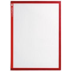 Documenthouder Legamaster magnetisch A4 rood (5)