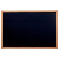 Securit krijtbord Woody ft 60x80 cm, teak