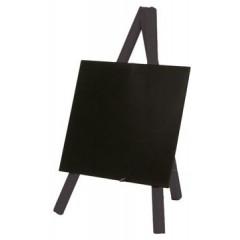 Securit tafelkrijtbord mini driepoot, ft 24x15 cm, zwart