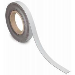 Etiketband Maul magnetisch wisbaar 10mx20mmx1mm wit
