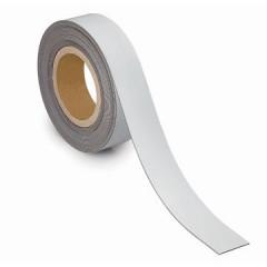 Etiketband Maul magnetisch wisbaar 10mx40mmx1mm wit