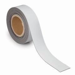 Etiketband Maul magnetisch wisbaar 10mx50mmx1mm wit