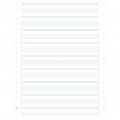 "Listing ft.11""x380 enkelvoud 70gr vaste boorden groen (2000)"