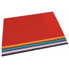 Tekenpapier Folia 50x70cm 130gr assorti