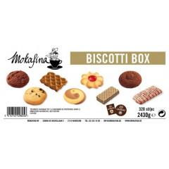 Koek Mokafina mix met en zonder chocolade indiv. verpakt (320)
