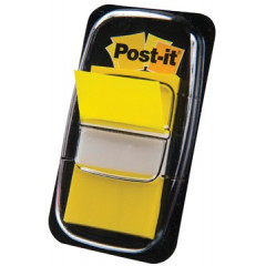 Index Post-it Standaard 25,4x43,2mm geel