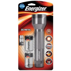 Zaklamp Energizer Metal LED incl 2x D