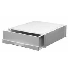 Stapelcassette Atlanta 1 lade lichtgrijs