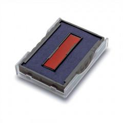 Trodat Printy inktkussen 6/4750/2 blauw-rood