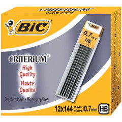 Potloodstift Bic Criterium HB 0,7mm (12)
