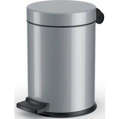 Pedaalemmer Hailo voor sanitair 4l zilver