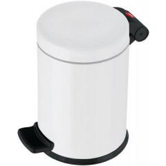 Pedaalemmer Hailo voor sanitair 4l wit