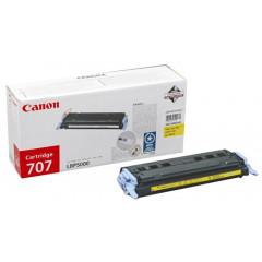 Canon laser LBP5000/5100 toner 707 YEL