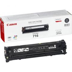 Toner Canon Color Laser 716 i-SENSYS LBP5050 2.300 pag. BK