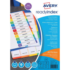 READYINDEX 10 TABS