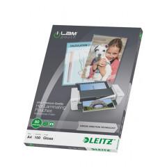 Lamineerhoes Leitz ilam A4 80µ (100)